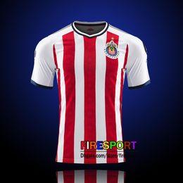 Wholesale Chivas Soccer - 2017 New Chivas de Guadalajara soccer jerseys camisetas de futbol Chivas Home Away Black Pink 17 18 commemorate E.LOPEZ A.PULIDO Shirts
