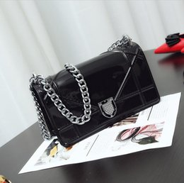 Wholesale Designer Jelly Handbags - Wholesale- Free shipping Luxury Designer Shoulder Bag Famous Brand High Quality jelly bag Woman Small Tote Handbag With Crossbody