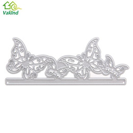 Wholesale Butterfly Die Cuts - Hot Selling 1pcs Carbon Steel Butterfly Cutting Dies Stencils For DIY Scrapbooking Photo Album Decorative Embossing Craft