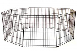 Wholesale Playing Pen - 30 Inch Tall Dog Playpen Crate Fence Pet Play Pen Exercise Cage 8 Panel