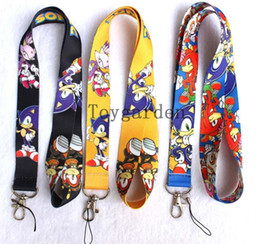 Wholesale Card Holder Necklaces - sell new Game logo lanyard Mobile Phone Necklace Strap Lanyards ID Card Holder free shipping C41