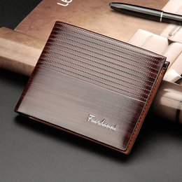 Wholesale Wallet Factory - 2017 New men short paragraph embossed wallet cross section of the multi - card wallet bag factory wholesale
