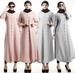 Wholesale Kaftan Dresses Wholesale - Abaya turkish women clothing Muslim Dress Islamic clothes for women robe musulmane Jibabs dresses Dubai Kaftan vestidos D172