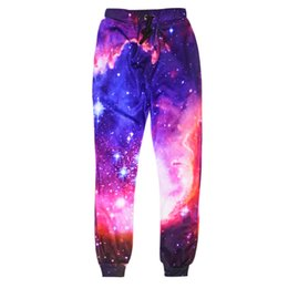 pants china Coupons - Wholesale-New Space Men Pants Harem Trousers Brand Harajuku 3d Print Cheap Male Urban Free Planet Clothing China Baggy Emoji Mens