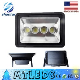 Wholesale Project Lights - clearance US STOCK LED 200W 300W 400W Floodlight Outdoor LED Flood light lamp waterproof LED project lampTunnel light AC 85-265V CE ROHS