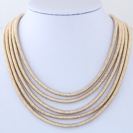 Wholesale Multi Layer Necklace Body Chain - Choker Necklace Women Multi layer Necklaces & Pendants Body Chain Necklaces Jewelry Statement Magnetic Collar Necklace