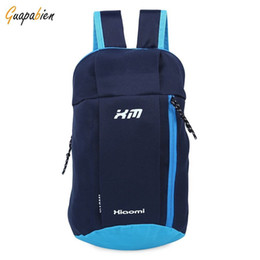 Wholesale Backpack Small Light - 2017 Fashion Small Light Backpacks Cool Canvas Bicycle Travel Back Pack Women Men School Bagpacks Waterproof Oxford Bucket Bag