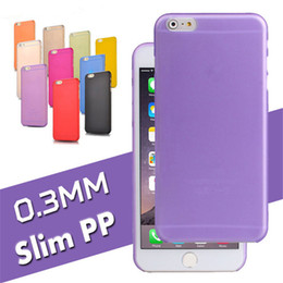 Wholesale Frost Plastic Skin - 0.3mm Ultra Thin Slim Matte Frosted Case For iPhone X 8 Clear Flexible Soft PP Cases Skin Cover For iPhone 7 6 6S Plus 5 5S Sumsung S8 Plus