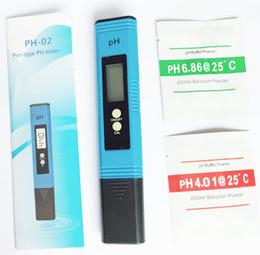 Ph mètres de type stylo en Ligne-Numérique précis 0.01 Étalonnage automatique Type de stylo PH Testeur Testeur de qualité de l'eau Moniteur pour piscine d'aquarium