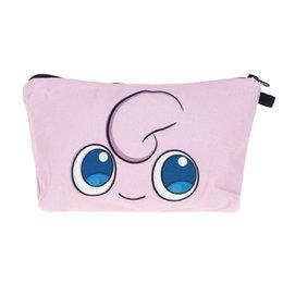 Wholesale Smile Wallet - 2017 Fashion Makeup Bag Wallet Jigglypuff Smile Women Bags Cosmetics Bag Travel Bag purses neceser designer Handbags organizer Makeup Pouch