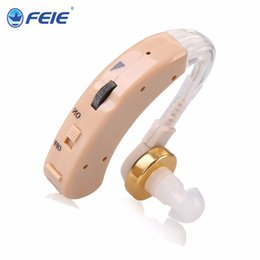 Wholesale hearing aid s cheap - Cheap Hearing Aid Deafness Aids Audiponos Wholesale Ear Sound Amplifier Hearing Assistive S-520 Adjust Hook Free Shipping