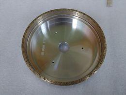 Wholesale Grinding Abrasive Wheel - Diamond Grinding Disc Diamond Abrasive Cup Wheel for Glass Beveler Machine Free Ship 150mm