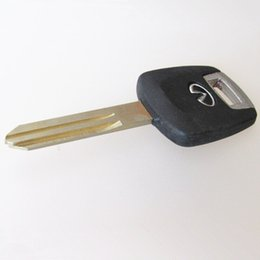 Wholesale G35 Cars - High quality Car transponder key replacement shell for Infiniti transponder key blank case free shipping