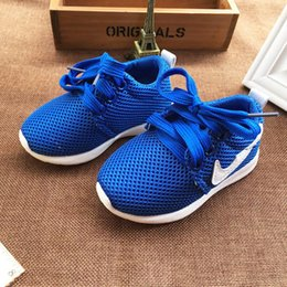 Wholesale Fabric Soft Baby Shoes - New Children Shoes Girls Boys Sport Shoes Antislip Soft Bottom Kids Fashion Sneaker Comfortable Breathable Mesh(Baby Little Kid)