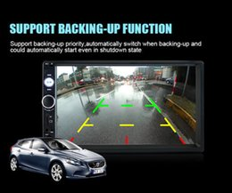 Wholesale Audi Gps Stereo - 7'' Car Radio Bluetooth Stereo HD Screen MP5 Player MP3 MP4 Handsfree CallBluetooth Stereo HD Screen MP5 Player MP3 MP4 Handsfree Call