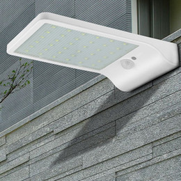 Wholesale Indoor Motion Lights - Supper Bright 36 LED 450LM Solar Power Street Light PIR Motion Sensor Lamps Garden Security Lamp Outdoor Street Waterproof Wall Lights