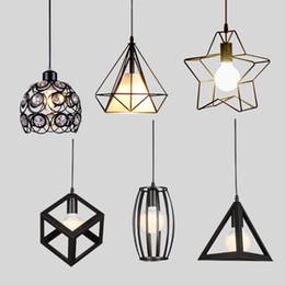 Wholesale Light Decoration Restaurant - Modern Pendant Lights Minimalist Restaurant Lamps North American Industrial Pendant Lamp Dining room Decoration Lghting E27