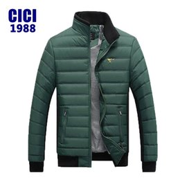 Wholesale Septwolves Fashion - Wholesale- NEW ARRIVAL!2016 SEPTWOLVES Hot sale Men Winter Splicing Cotton-Padded Coat Jacket Men Winter PlusSize 3xl Parka High Quality 90
