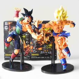 Wholesale Bardock Figure - 22cm Dragon Ball Z Resurrection F Super Saiyan Son Goku Bardock PVC Action Figure Collectible Model Doll Toys With Box
