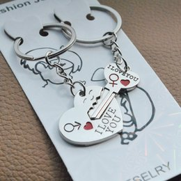Wholesale Love Express - Earth Cupid Keychain Key chain pendant jewelry lovers on Valentine's Day gifts to express love