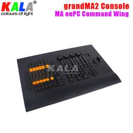 Wholesale Dmx Controller Console - grandMA2 DMX Lighting Controller  Console MA onPC Command Wing