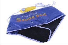 Wholesale Ms Fitness - dhl Fast shipping high quality Velform Sauna Belt Fat Cellulite Burner Slimming Fitness Waist Sweat MS