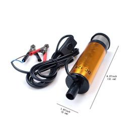 Wholesale 12v Transfer Pump - Fuel Pump DC 12V Transfer Submersible Pump Fluid Water Liquid Oil Refueling 38MM