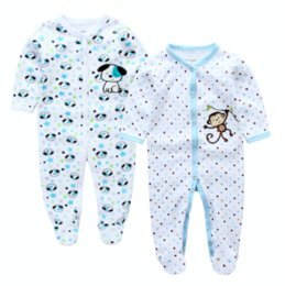 Wholesale Winter Body Suits Baby - Baby Romper, Cut Cartoon Animal Newborn 2Pcs pack Baby Clothes Jumpsuit Infant Baby Girl Cotton Romper Costume Body Suits