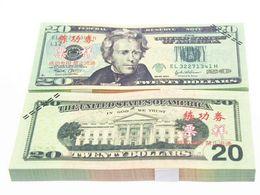Wholesale China Coats Wholesaler - USD 20 Dollars 1:1 China Bank Staff Training Banknotes Paper Money Gift