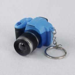 Ponto chaveiros on-line-Pérola da câmera luz do som chaveiros lanterna do som dos desenhos animados brinquedos animação Stitch chaveiros presente da criança wholesales