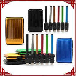 Wholesale Ego Battey - CE3 vape pen bud touch battey 510 ego charger oil atomizer vaporizer ce3 cartridge electronic cigarettes gift box starter kit