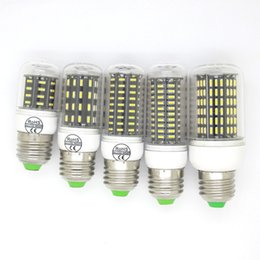 Wholesale Led 35w - Newest Ultra Bright SMD 4014 Led Corn Bulb Light E27 E14 GU10 G9 12W 18W 25W 30W 35W Led Bulbs 36 56 72 96 138leds SMD 4014 High Quality