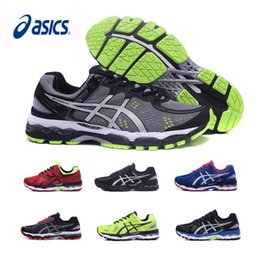 19fe9fe9b52 tamanho do sapato 22 Desconto 2019 Asics Gel-Kayano 22 Homens Tênis de corrida  Preto