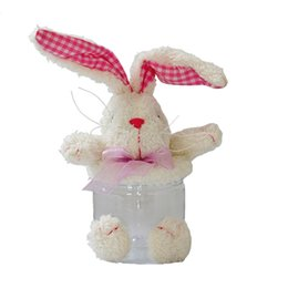 Wholesale Wholesale Easter Bunny Plush - New Products Cute Plush Bunny Children's Candy Gift Box and Cute Birthday Gifts Gift Jewelry 29cm Free Shipping