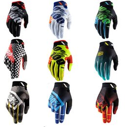 Wholesale Motocross Tld - Free Ship Motocross 100 Percent Ridefit AM Bike Gloves MTB Mountain Bike Moto Motorcycle TLD DH Cycling Bicycle 100% Gloves