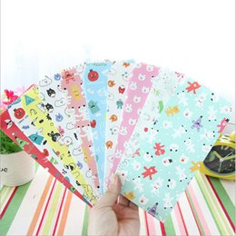 Wholesale Cute Stationery Envelopes - Wholesale- 5pcs lot Cute animal envelopes letterhead office stationery writing paper stationery kawaii birthday christmas card envelopes