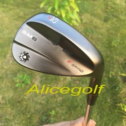 Wholesale 52 Degree Wedge - 2017 OEM quality golf wedges SM6 wedges silver grey black colors 50 52 54 56 58 60 degree 3pcs with original SM6 grooves golf clubs