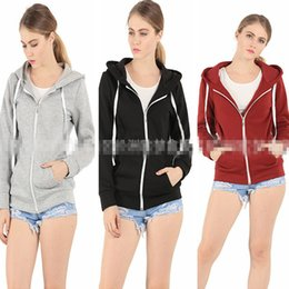 Wholesale Hoddies For Women - Fashion Women's Clothing Loose thick cotton hooded sweater cardigans for women Hoodies tracksuit women Sweatshirts hoddies 864