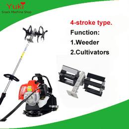 Wholesale Gasoline Power - Popular 4 stroke power weeder machine+diesel cultivator gasoline maize weeding machine mini garden farm cultivator tiller