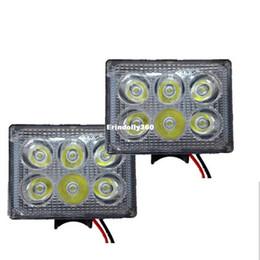 Wholesale Spot 12v Switch - 3 Inch 18W LED Work Light 6 LED Beads Headlight Spot Lights 12V-80V Fog Lamp for Engineering Vehicle Truck SUV Car Styling