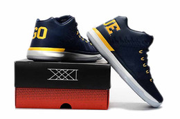 Wholesale Drop Out - Top Quality Retro 31 XXXI Low Michigan Wolverines Marquette 31s Basketball Shoes Men Shoes with box Drop Shipping