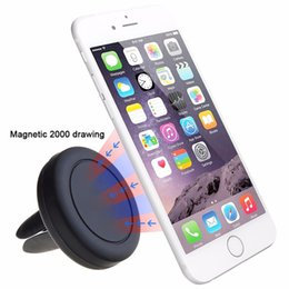 Wholesale Sticky Mount - Car mount holder magnetic car air vent mobile phone mount holders for iphone 6 6s Samsung Xiaomi LG Cd Slot Clip Bracket Sticky