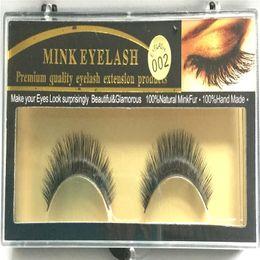 Wholesale Soft Fake Eyelashes Individual - Premium Quality False Eyelashes Handmade Natural Long Thick Mink Fur Eyelashes Soft Fake Eye Lash extensions 15 stype Lashes