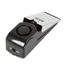 allarme antifurto casa Sconti Allarme di arresto porta Sicurezza domestica Sirene 120dB Protezione di porta di sicurezza tappo Set di allarme di 2