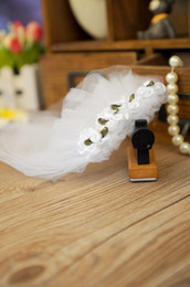 Wholesale Tulle Bow Veil - New High Quality Tulle Pet Dog Cat Hairpin Veil Elegant Hair Accessories for Dog Wedding Festive Dogs Suppplies