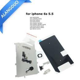 Iphone schrauben voller satz online-Full Set Ersatzteile für iPhone 5 5S 5C 6 6s plus Full LCD Display Ersatzteile Frontkamera Lautsprecher Home Button Schrauben