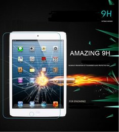 Wholesale New Ipad Screen Protector - Case For New iPad 2017 9.7 inch Tempered Reinforced Glass Screen Protector Case For New iPad 2017 9.7 A1822 A1823
