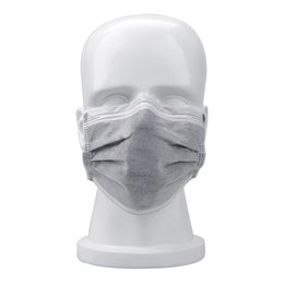 Wholesale Wholesale Disposable Mask - 2017 Anti-dust disposable respirator wholesale anti-smog activated carbon four layers thick non-woven cloth independent packaging labor mask