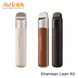 Wholesale Pulse Batteries - Authentic Shanlaan Laan Pod Kit with 2ml Capacity and 1300mAh Battery Top Airflow & Top Filling Sub-ohm Coil Limitless Pulse Pod