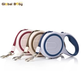 Wholesale Automatic Pet Dog Traction Rope - New Arrival Brand ABS High-Grade Stable Durable 3 Meter Automatic Retractable Dog Traction Rope Leashes Pet Leads